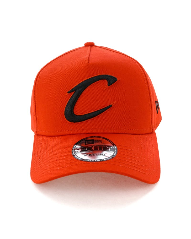 New Era Cleveland Cavaliers 9FORTY A-Frame Snapback Cherry/Black