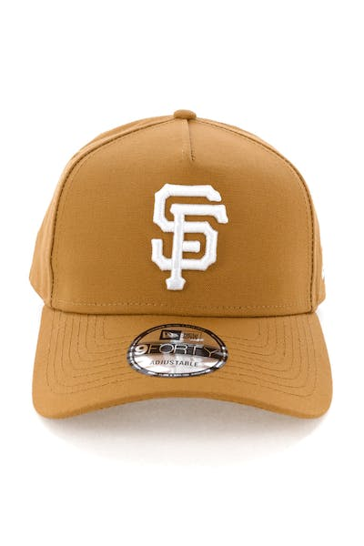 New Era San Francisco Giants 9FORTY A-Frame Snapback Chipmunk