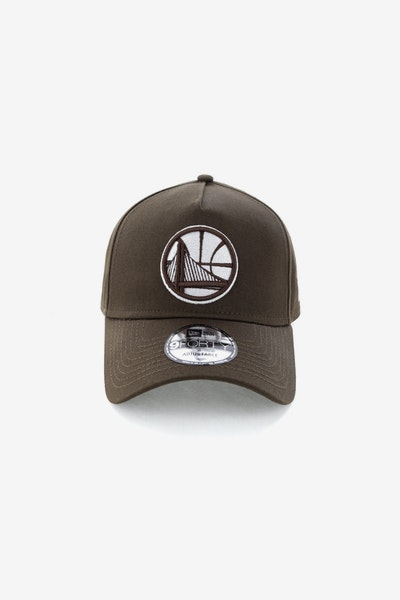 New Era Golden State Warriors CK 940 A-Frame Snapback Chestnut