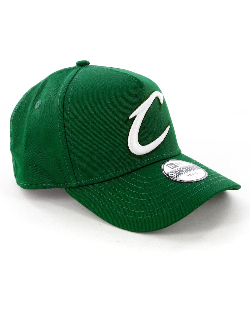 New Era Youth Cleveland Cavaliers 9FORTY A-Frame Snapback Eden Green