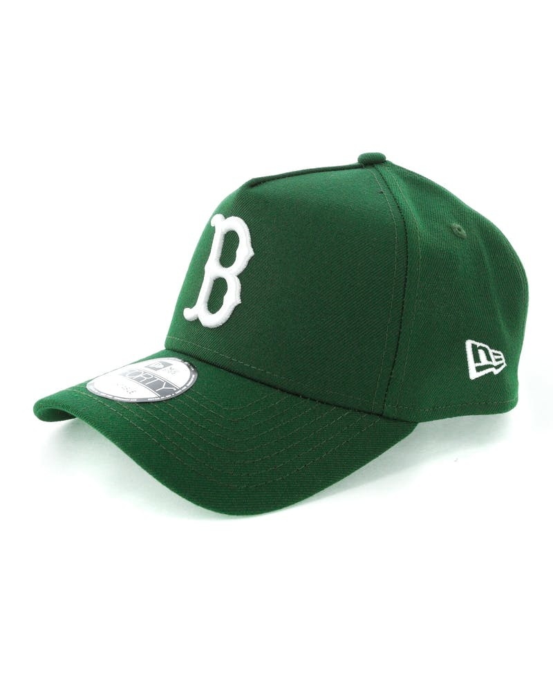 New Era Boston Red Sox 9FORTY A-Frame Snapback Eden Green