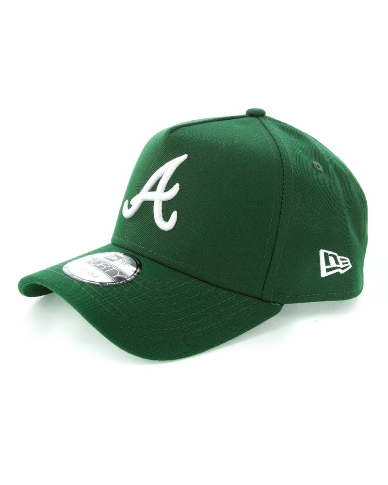 New Era Atlanta Braves 9FORTY A-Frame Snapback Eden Green