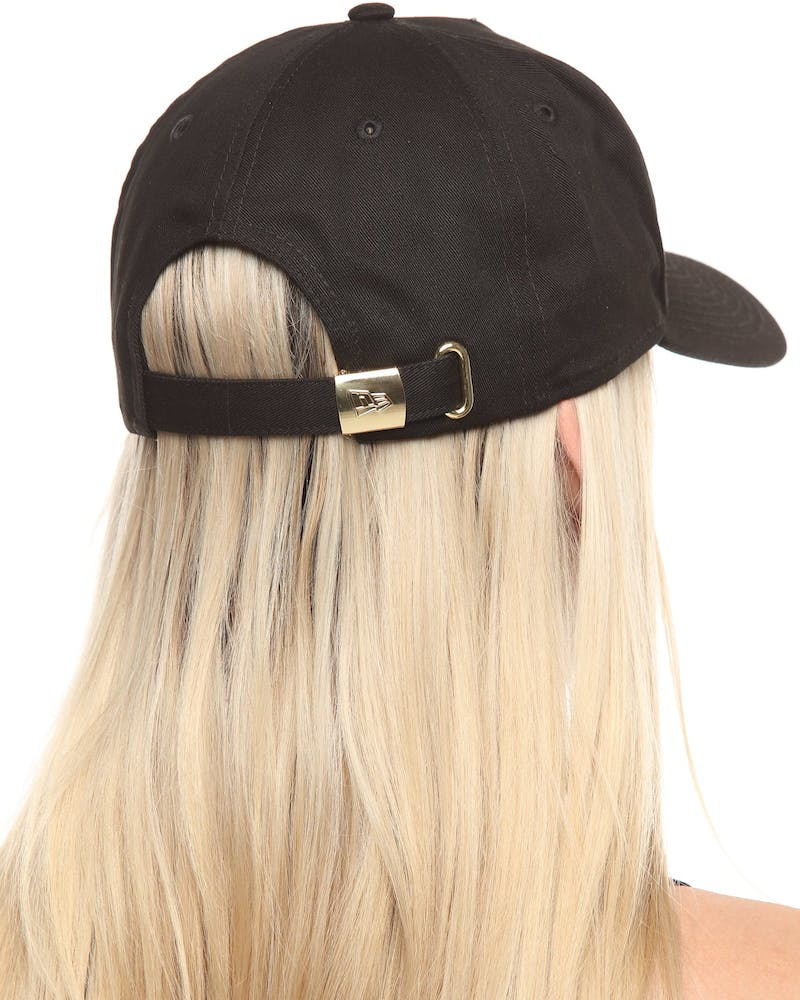 New Era Women's Pittsburgh Pirates 9FORTY A-Frame Strapback Black/Gold