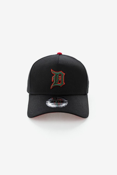 New Era Detroit Tigers 940 A-Frame Snapback Black/Green/Red