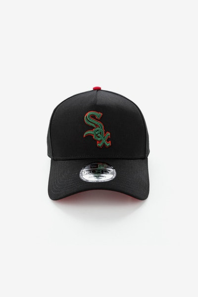 New Era Chicago White Sox 940 A-Frame Snapback Black/Green/Red
