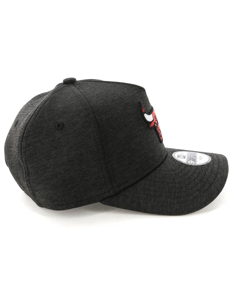 New Era Youth Chicago Bulls CK 9FORTY A-Frame Tech Snapback Black Shadow