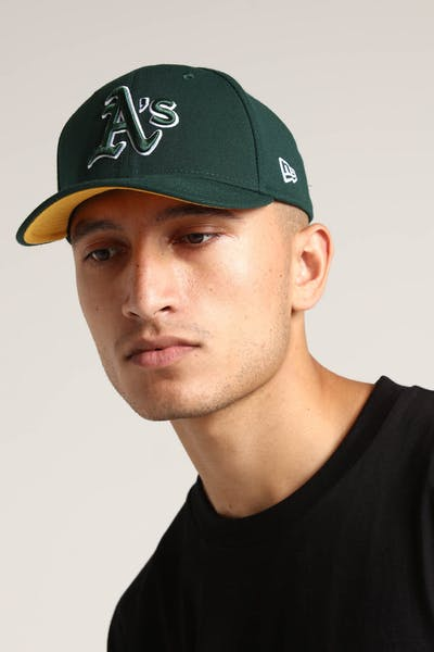 New Era Oakland Athletics 9FIFTY Stretch Snapback Gold