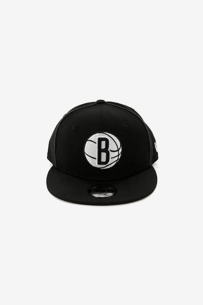 New Era Youth Brooklyn Nets 9FIFTY Snapback Black