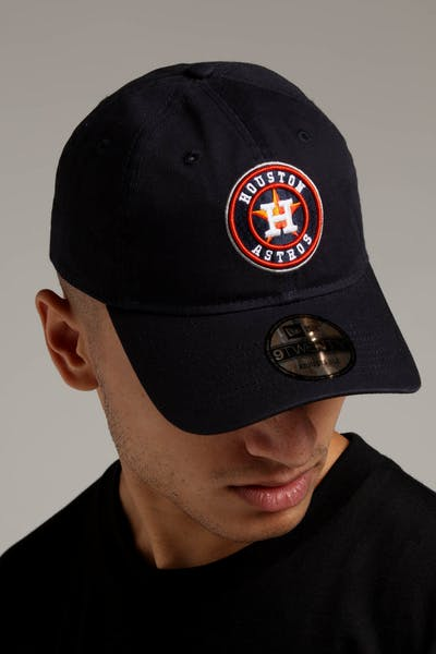 New Era Houston Astros 9TEWNTY Cloth Strapback Navy