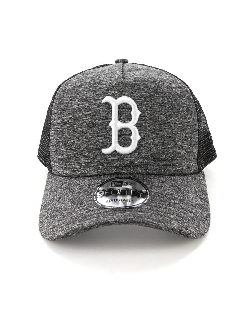 New Era Boston Red Sox CK 9FORTY A-Frame Trucker Snapback Shadow Tech