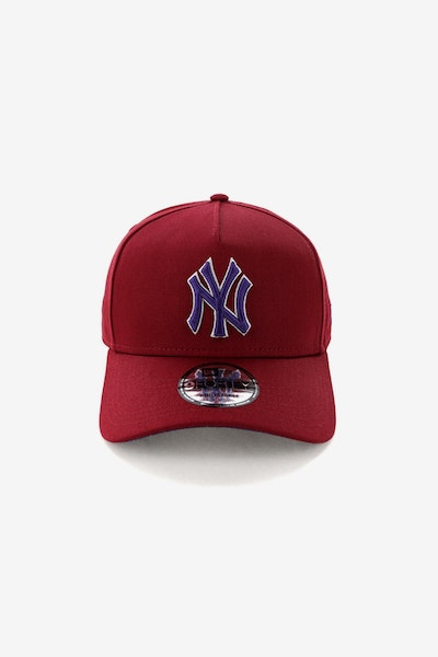 New Era New York Yankees CK 940 A-Frame Snapback Shiraz/Purple
