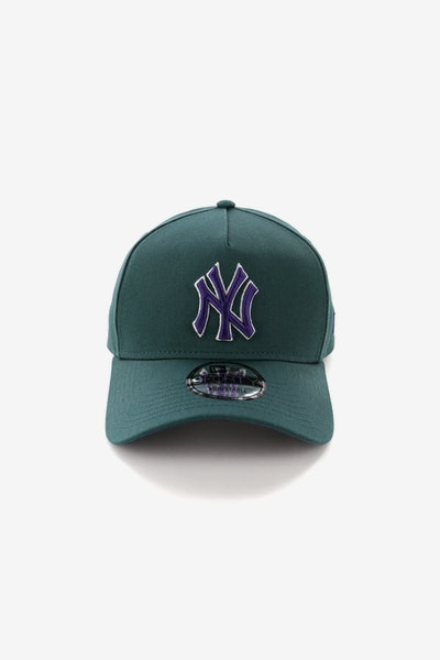 New Era New York Yankees CK 940 A-Frame Snapback Pine/Purple