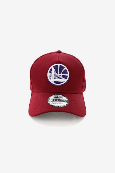New Era Golden State Warriors CK 940 A-Frame Snapback Shiraz/Purple