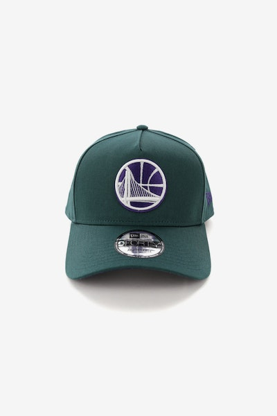 New Era Golden State Warriors CK 940 A-Frame Snapback Pine/Purple