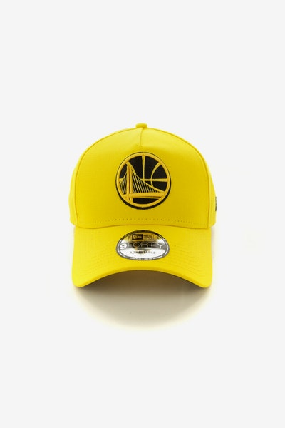 New Era Golden State Warriors CK 940 A-Frame Snapback Yellow/Black