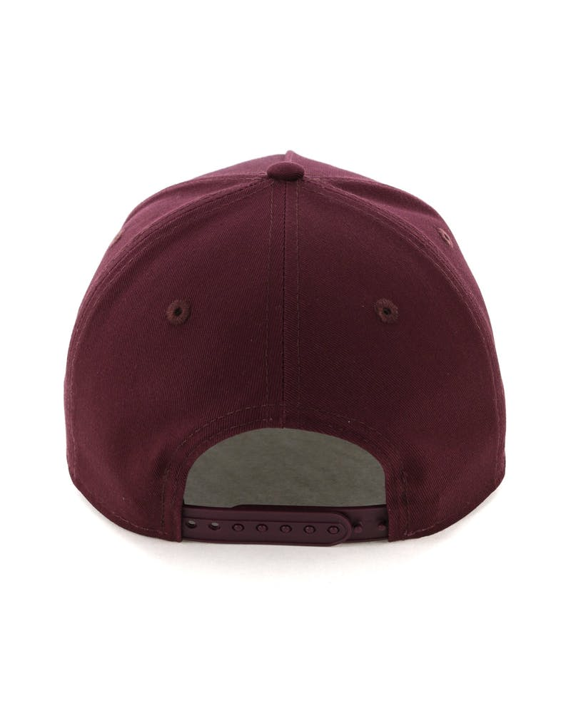 New Era Raiders 9FORTY A-Frame Snapback Burgundy/Tan