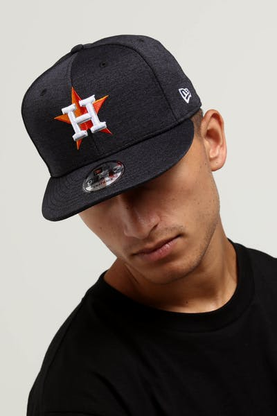 New Era Houston Astros 9FIFTY Tech Snapback navy