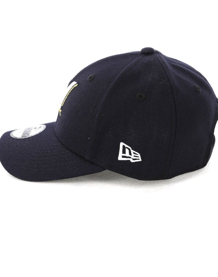 latest design official shop new collection New Era Youth Milwaukee Brewers 9FORTY HookNLoop Navy | Culture ...