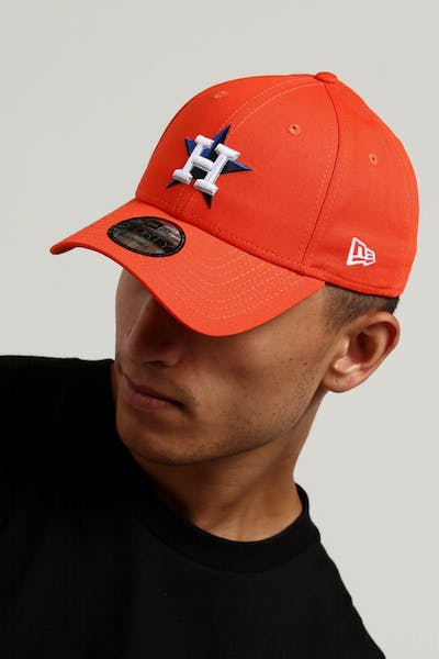 New Era Houston Astros 9FORTY Snapback Orange