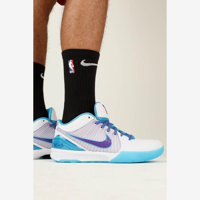 watch adb55 77414 Nike Kobe IV Protro WhitePurpleBlue