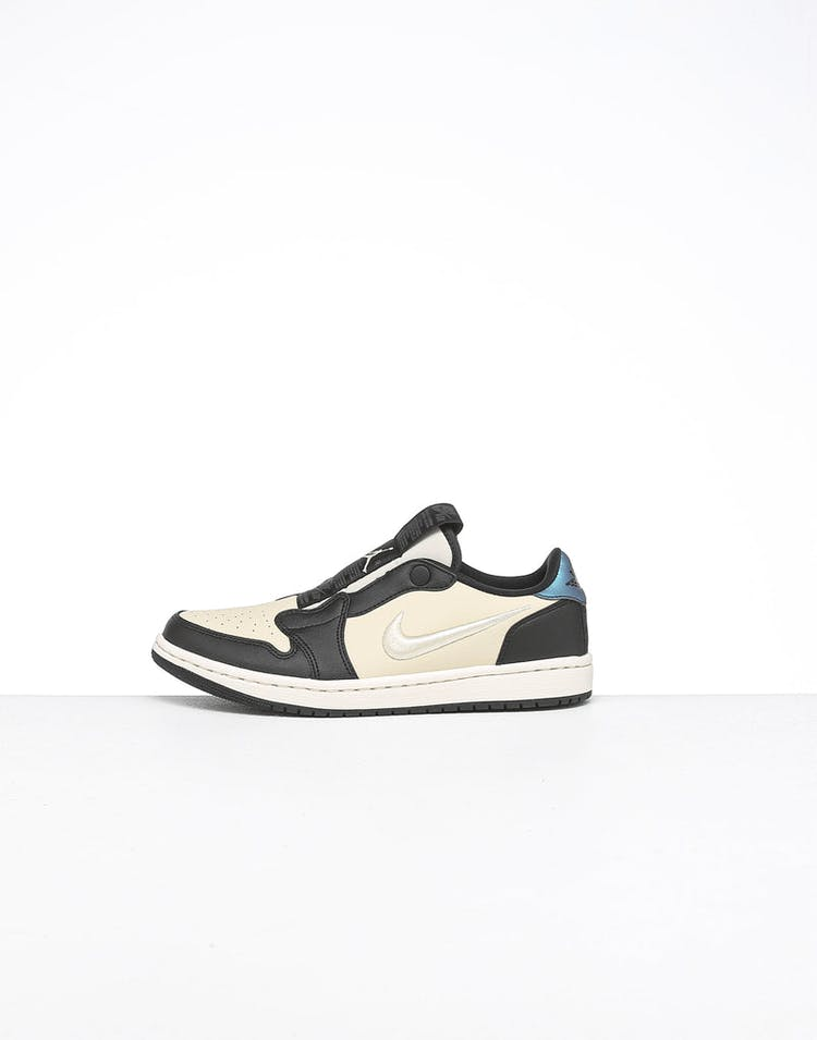 reputable site 1d7ea 1d17d Jordan Women's Air Jordan 1 Retro Low Slip Fossil/Black/Ivory
