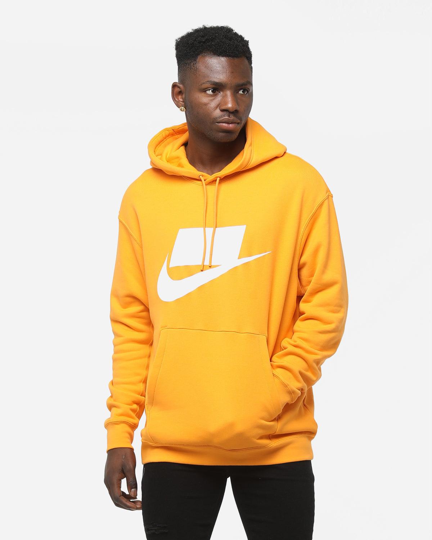 nike sportswear yellow sweatshirt