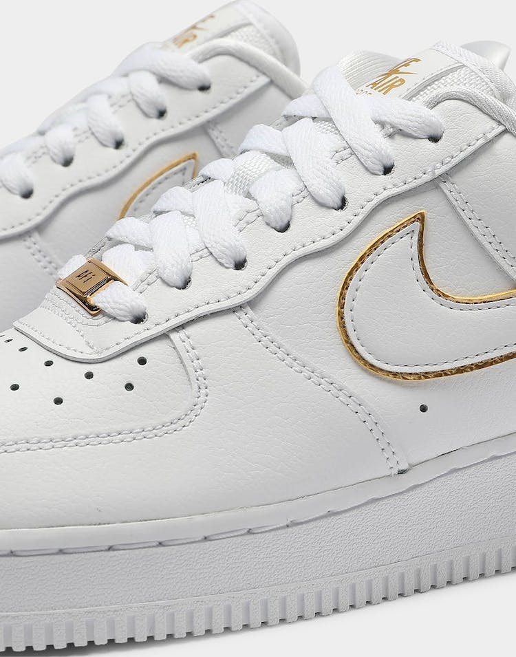 Nike Women's Air Force 1 '07 Essential White/Gold