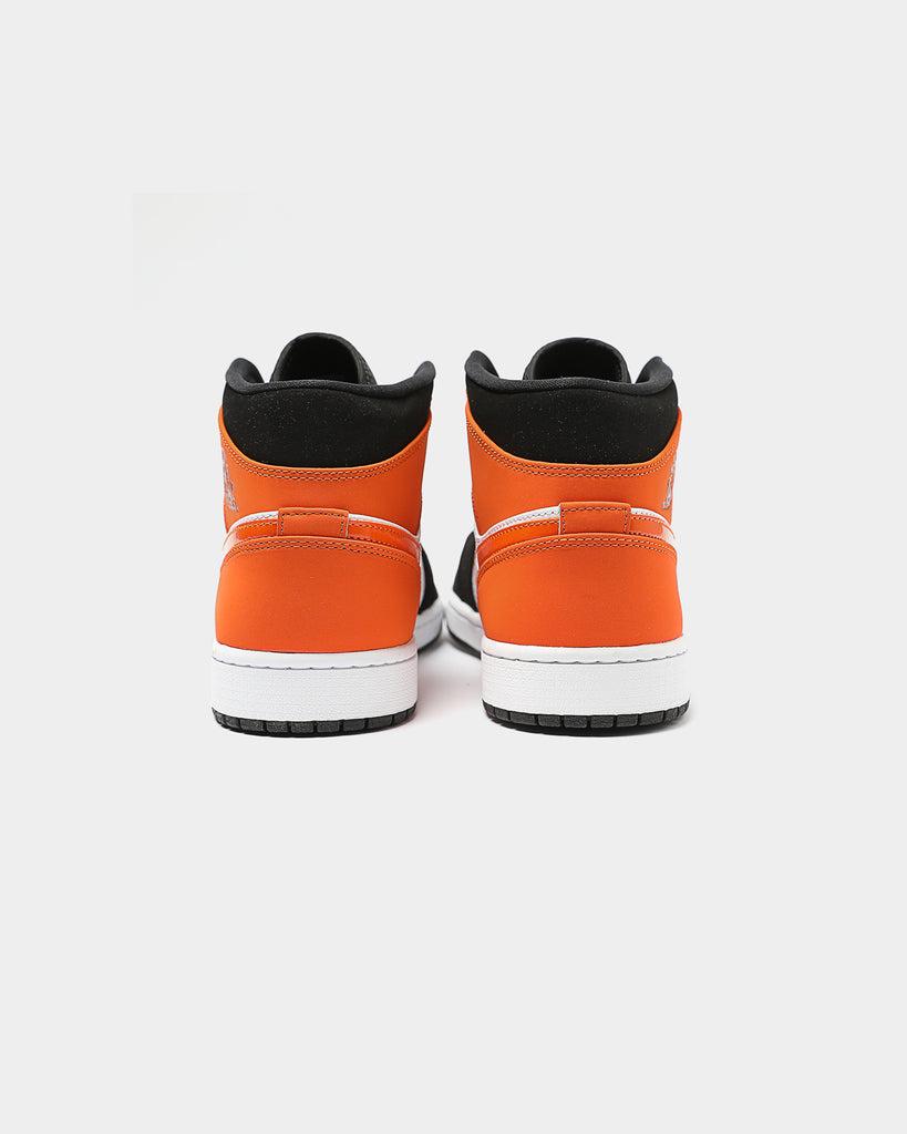 air jordan 1 mid starfish orange junior