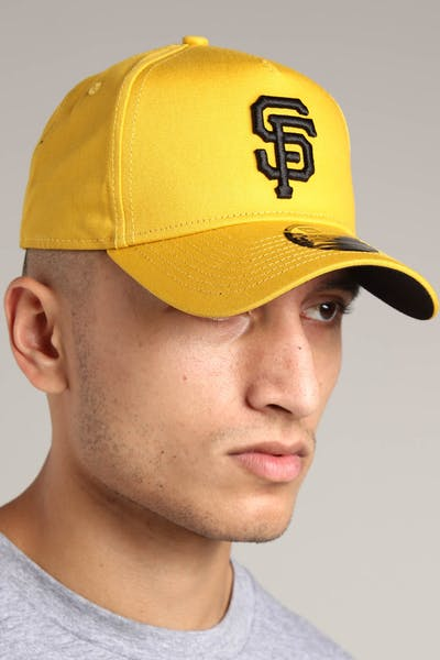 New Era San Francisco Giants 9FORTY A-Frame Snapback Mustard/Black