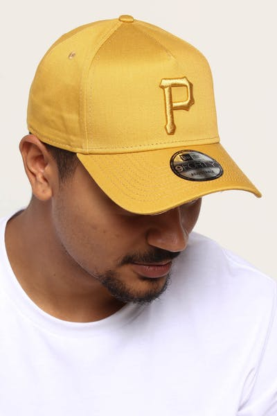 NEW ERA PITTSBURGH PIRATES 9FORTY A-FRAME SNAPBACK GOLD