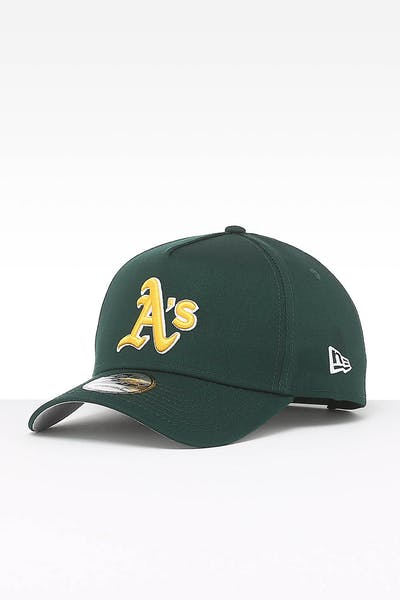 New Era Oakland Athletics 9FORTY A-Frame Team Snapback Dark Green