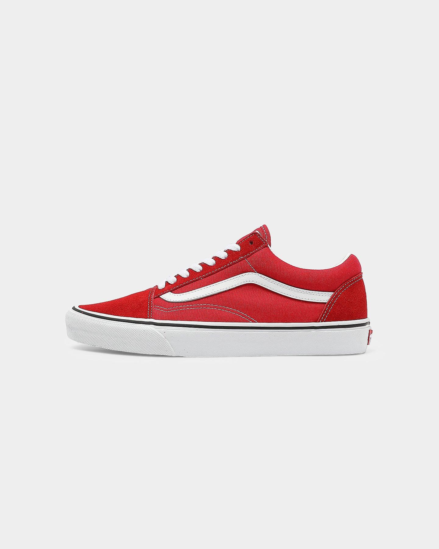Vans Old SKOOL Red/White | Culture Kings US