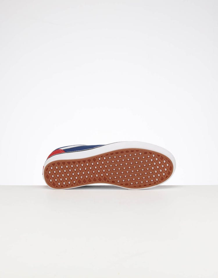 Vans UA Comfycush Old Skool Chilli Pepper/True Blue
