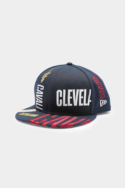 New Era Cleveland Cavaliers 9FIFTY 19 Tip Off Snapback Navy