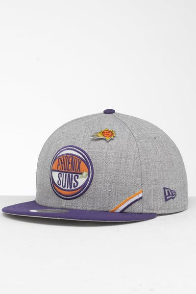 New Era Phoenix Suns 9Fifty NBA Draft Snapback Royal/OTC