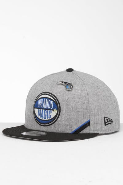 New Era Orlando Magic 9Fifty NBA Draft Snapback Black/OTC