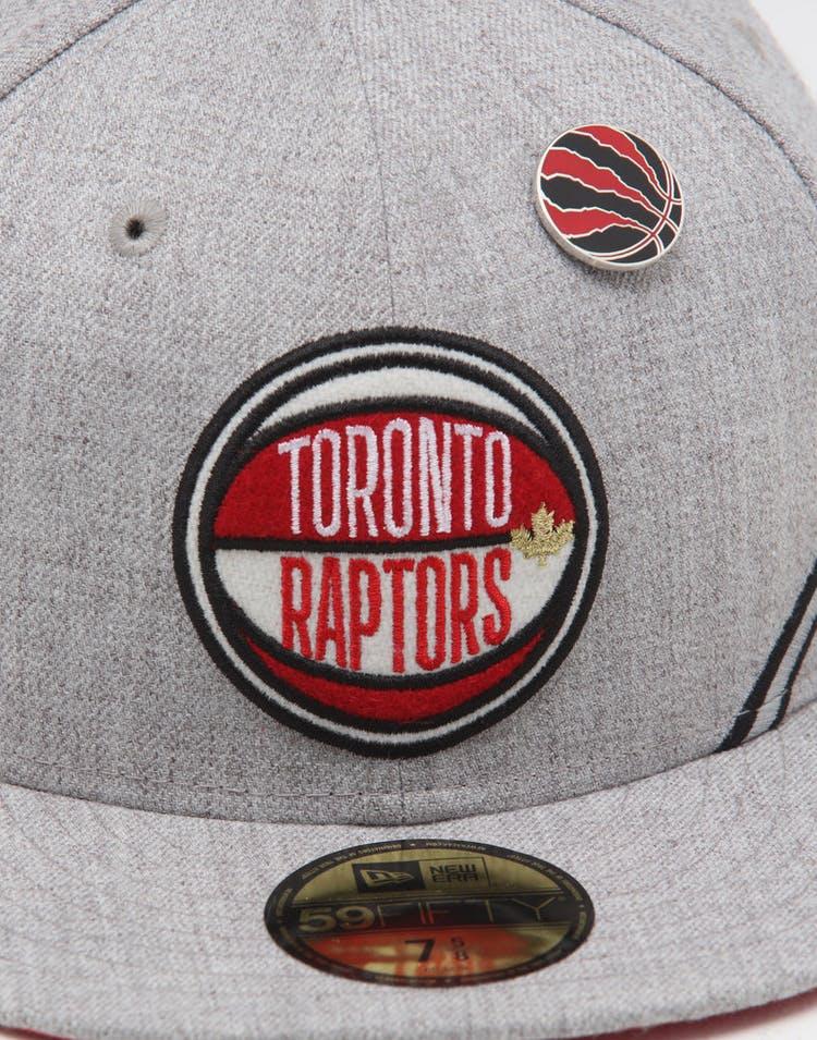size 40 ac660 1fc5c New Era Toronto Raptors 59FIFTY NBA Draft Fitted Red OTC