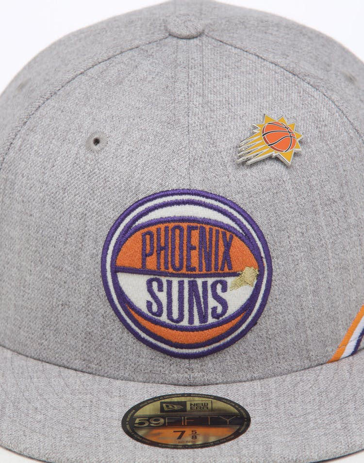 d41b4815587d7e New Era Phoenix Suns 59FIFTY NBA Draft Fitted Navy/OTC – Culture ...
