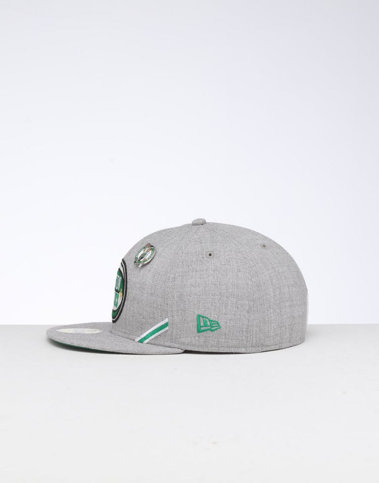 newest 2aa85 b3a7c New Era Boston Celtics 59FIFTY NBA Draft Fitted Green OTC
