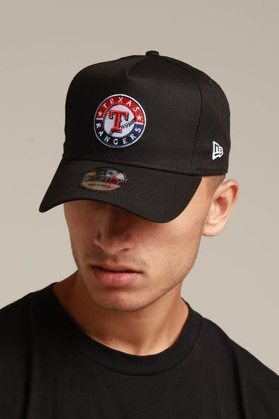 New Era Texas Rangers 9FORTY K-Frame Snapback Black/OTC