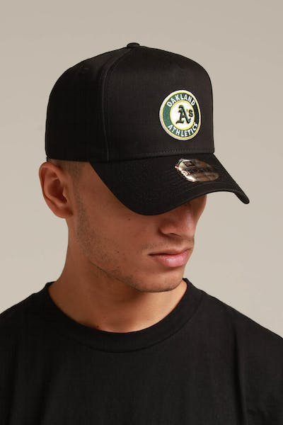 New Era Oakland Athletics 9FORTY K-Frame Snapback Black/OTC