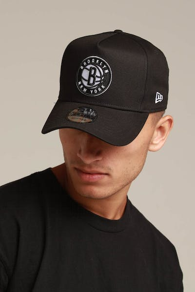New Era Brooklyn Nets 9FORTY K-Frame Snapback Black/OTC