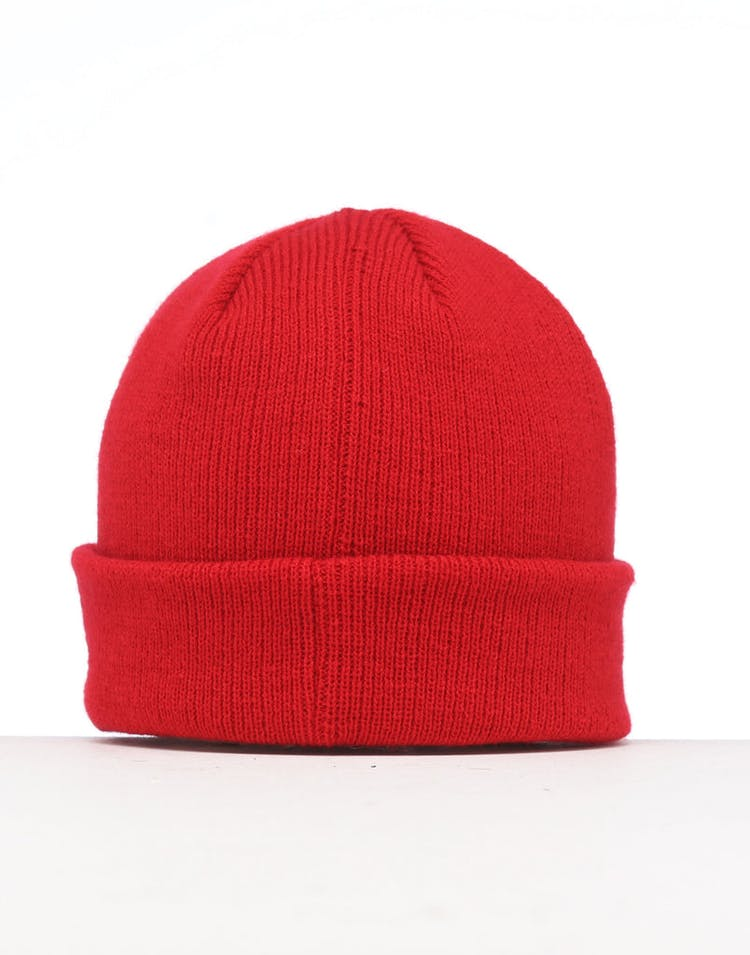New Era Infant Raiders 6 Dart Cuff Beanie Scarlet/White