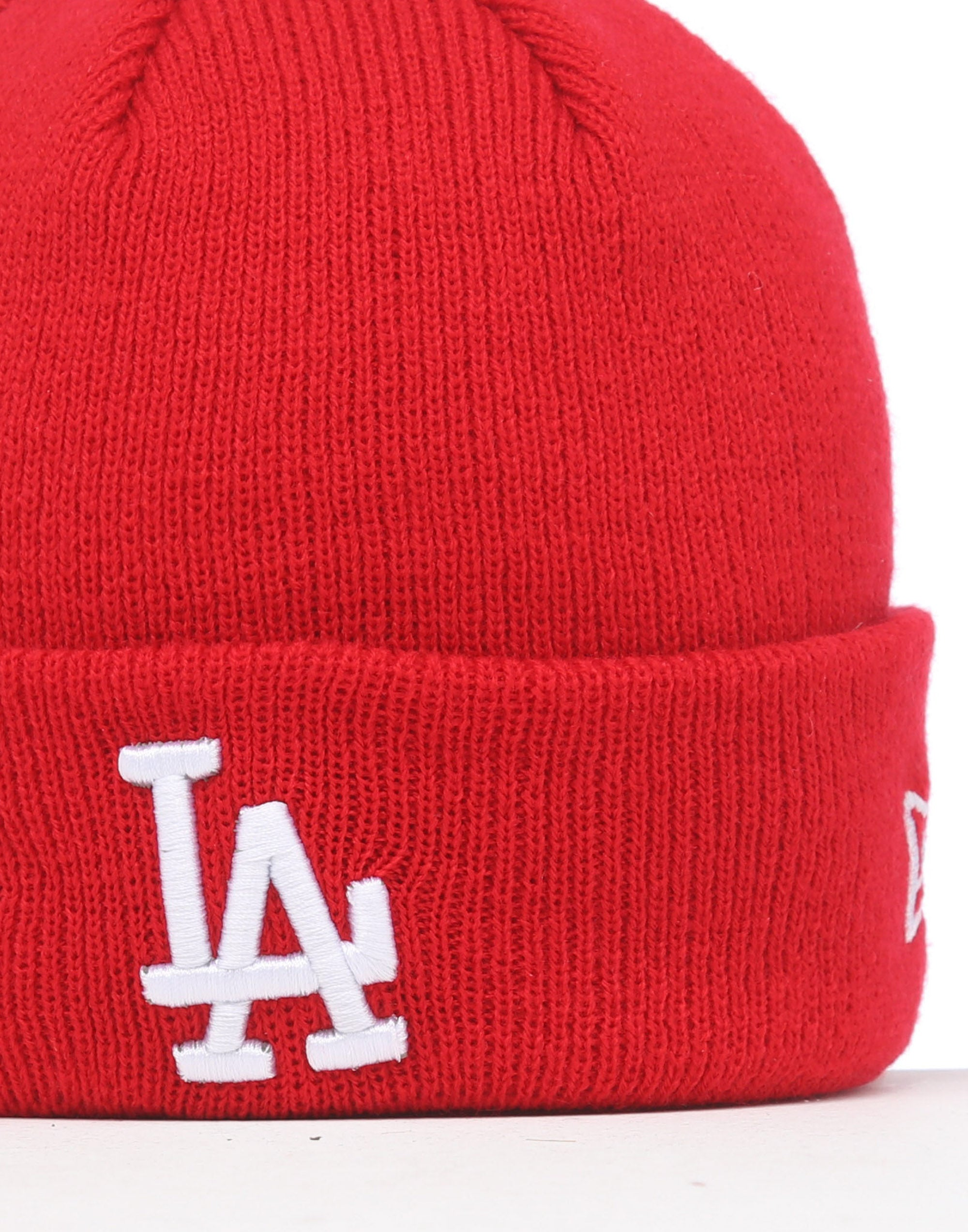 Raised Cuff LA Dodgers  maroon 47 Brand Knit Beanie