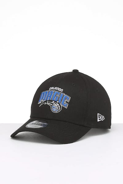 New Era Orlando Magic 9FORTY Cloth Strapback Black/OTC