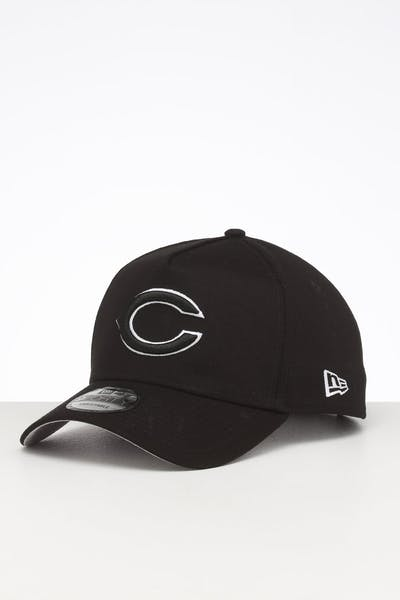 New Era Chicago Bears 9FORTY A-Frame Snapback Black
