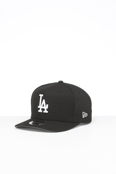 New Era Los Angeles Dodgers 9FIFTY High Crown Precurved Snapback Black