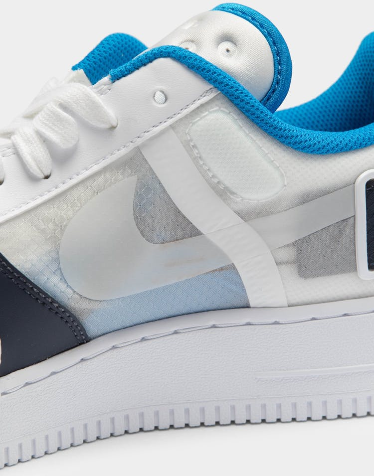 Nike Air Force 1 Type White/Obsidian