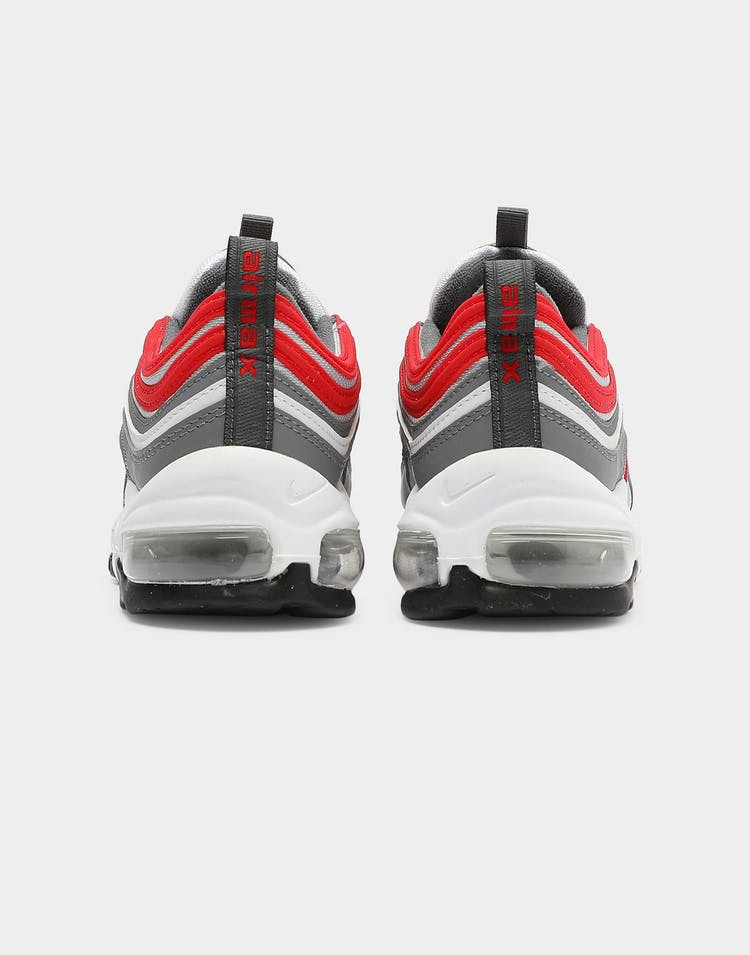 Nike Kids Air Max 97 (GS) Grey/Red/White