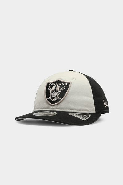 New Era Raiders 9FIFTY Retro Crown Washed Snapback Black